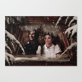 Christmas / Rumbelle Canvas Print
