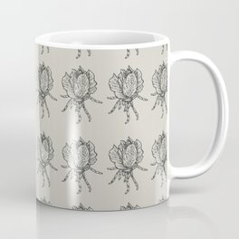 Spider lettuce by Piki Coffee Mug
