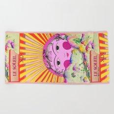 Tarot card-The Sun-Le soleil Beach Towel