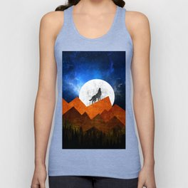 Night Shadow Unisex Tank Top