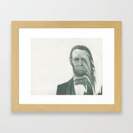 Mr. President Framed Art Print