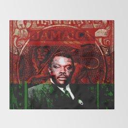 Marcus Garvey Black Nationalist Design Merchandise Throw Blanket