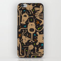 Topsy Turvy - Dark iPhone Skin