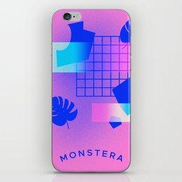 M O N S T E R A iPhone Skin