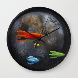 Forbidden Planet Wall Clock
