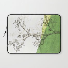 rose branch in spring Laptop Sleeve