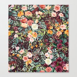Fall Floral Canvas Print