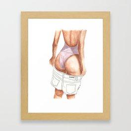 bootylicious Framed Art Print