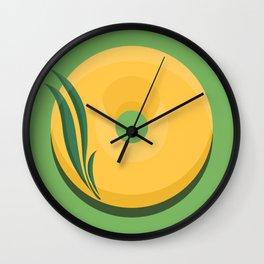 1DONUT - Daffodil Wall Clock