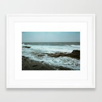 maine Framed Art Prints featuring Maine by RetiredRager