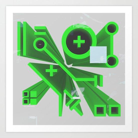 Tech Perspective Art Print