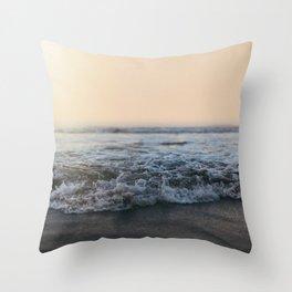 Sunrise Ocean Throw Pillow