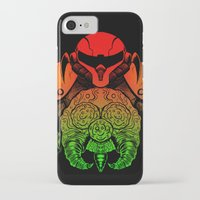 samus iPhone & iPod Cases featuring samus by Sixtybones