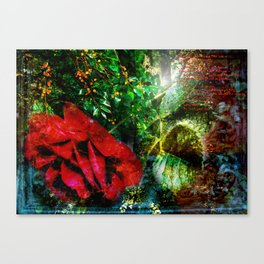 Look see - an illustrated poem Canvas Print