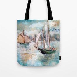 City Sailors Tote Bag