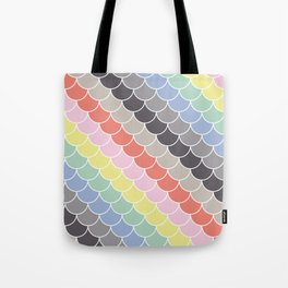 Pastel scales Tote Bag