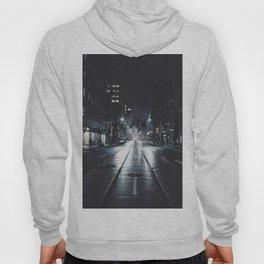 Night street reflect Hoody
