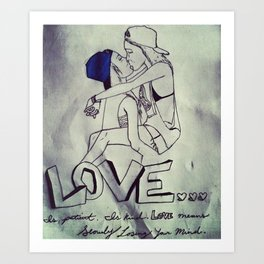 Love Freely Art Print