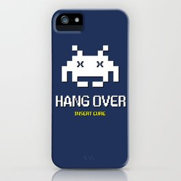 HANG OVER - Insert Cure iPhone Case