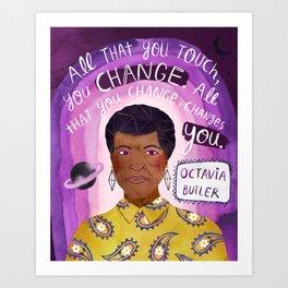 Octavia Butler Art Print