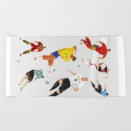 World Cup 2018 Beach Towel