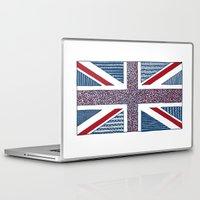 uk Laptop & iPad Skins featuring Lovely UK by Anita Ivancenko