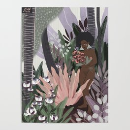 Muted Gardens Poster