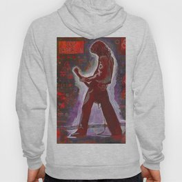 Rock and Roll in Red Hoody