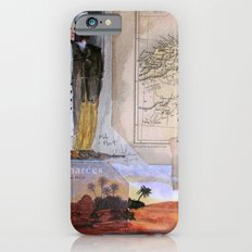 KIT AND PORT (THE SHELTERING SKY) Slim Case iPhone 6s