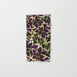 Coleus Plant Leavs Hand & Bath Towel