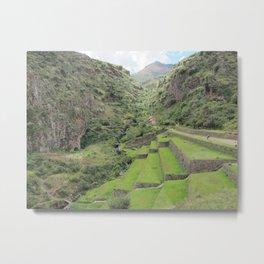 Peruvian Highlands Metal Print