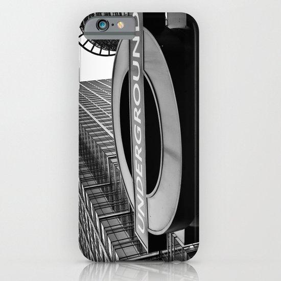 Canary Wharf  Underground iPhone & iPod Case