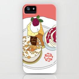 Gorgeous Cake Set iPhone Case