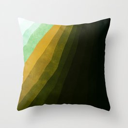 Stratum 4 Dirt Throw Pillow