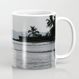 Boy looking for clams Coffee Mug
