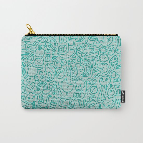 Chalk Doodle Carry-All Pouch