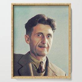 George Orwell, Literary Legend Serving Tray