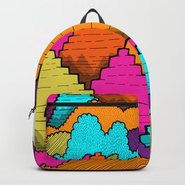 Peaks of the forest Backpack