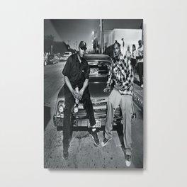 Dr Dre & Snoop Dogg poster wall art home decor photo print Metal Print