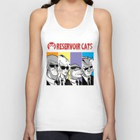 reservoir dogs Tank Tops featuring Reservoir Cats by DennisHart