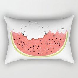 Natural Disaster Rectangular Pillow