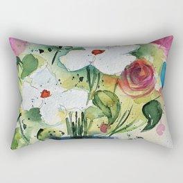 big bouquet Rectangular Pillow