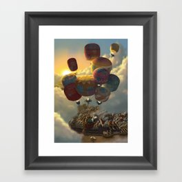 Way Up High Framed Art Print