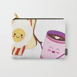 BFF Fun Eggs & Coffee with Bacon & Toast Carry-All Pouch