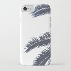 Palm Tree leaves abstract III iPhone 7 Slim Case