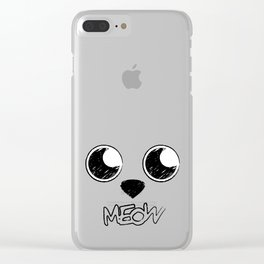 Soft kitty, warm kitty Clear iPhone Case