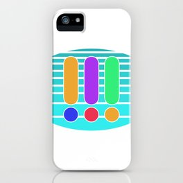 Three exclamation marks detective binoculars iPhone Case