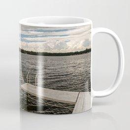Stormy Sky Over Lake Coffee Mug