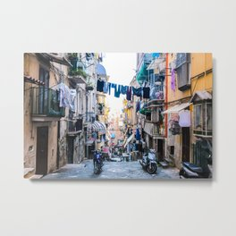 A Day in the Life, Napoli, Italy Metal Print