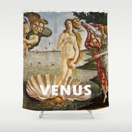 The birth of a Goddes Shower Curtain